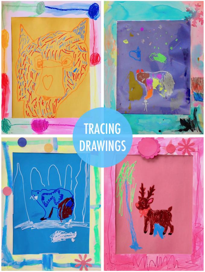 Tracing Drawings