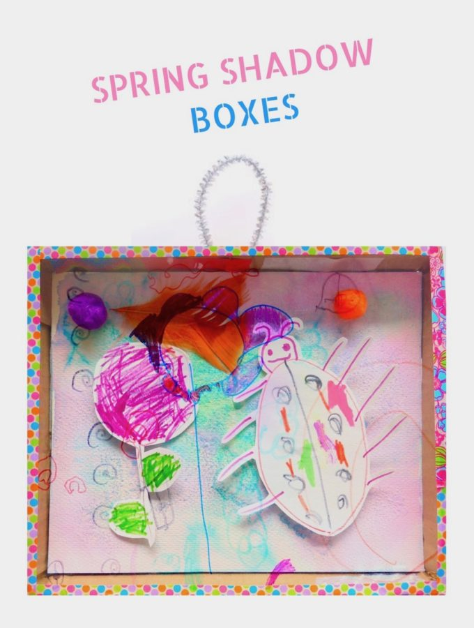 Spring Shadow Boxes