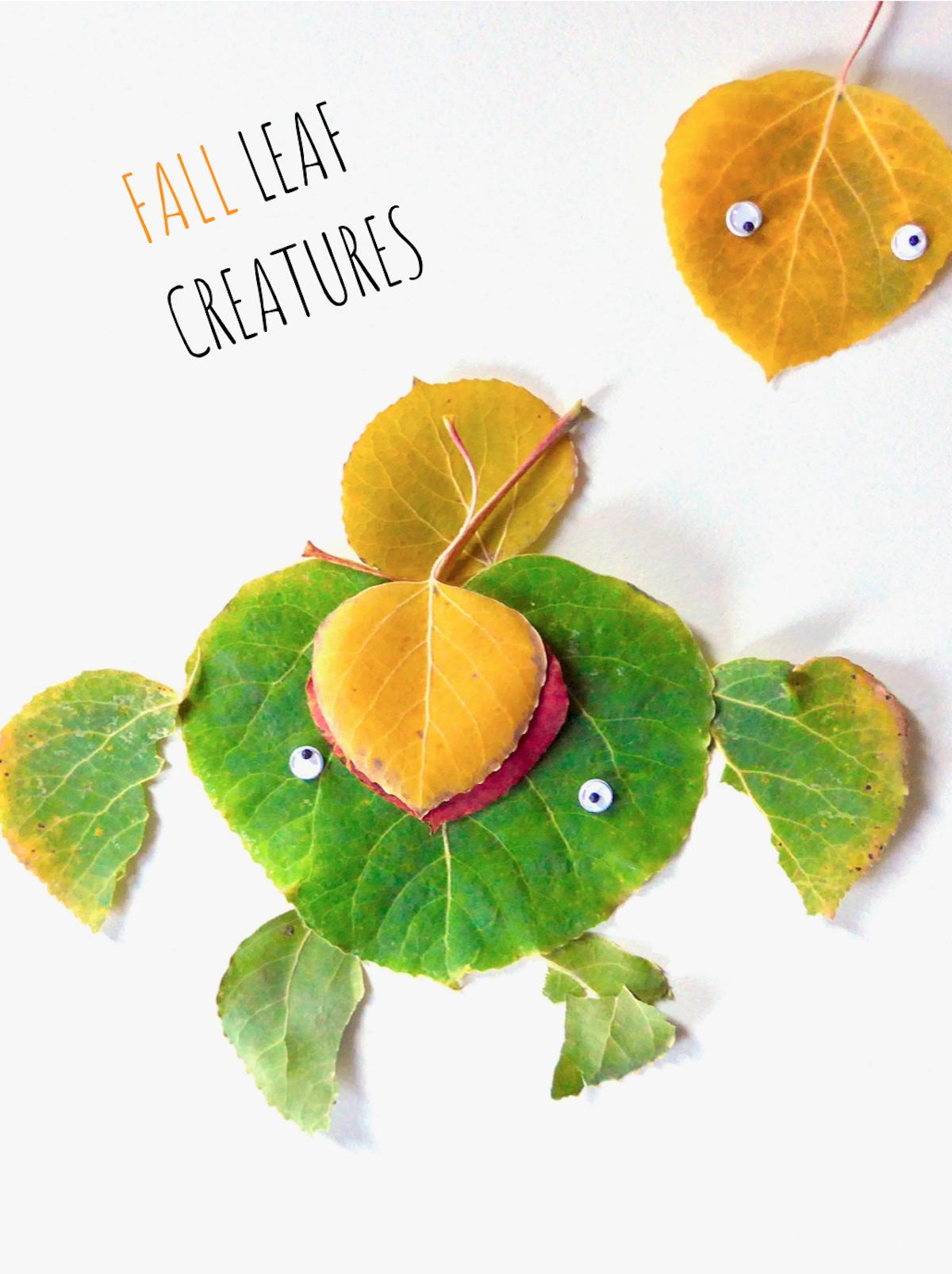 Fall Leaf Creatures