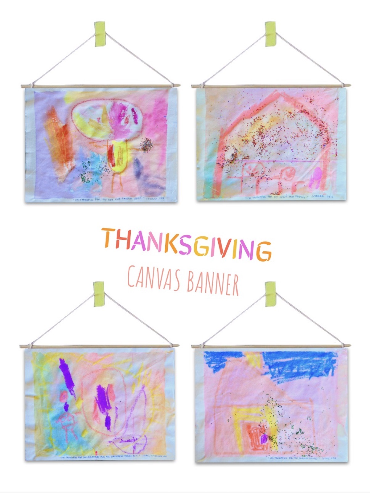 Thanksgiving Canvas Banner