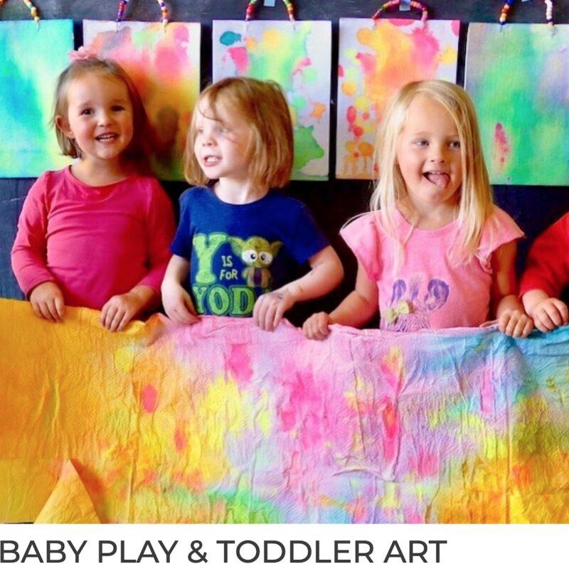 Baby Play & Toddler Art
