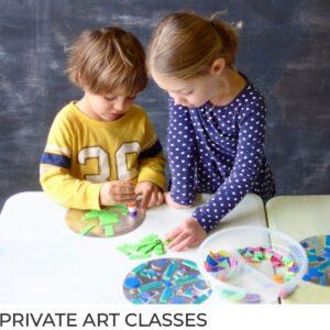 Private Art Classes for Kids