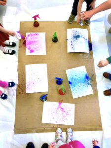 Watercolor Spray Bottles