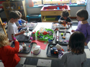Outer Space Art Activity for Pre-K