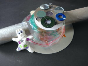 Outer Space Art Activity for Kids