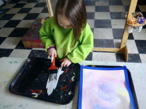 Rocket Ship Art Activity for Kids