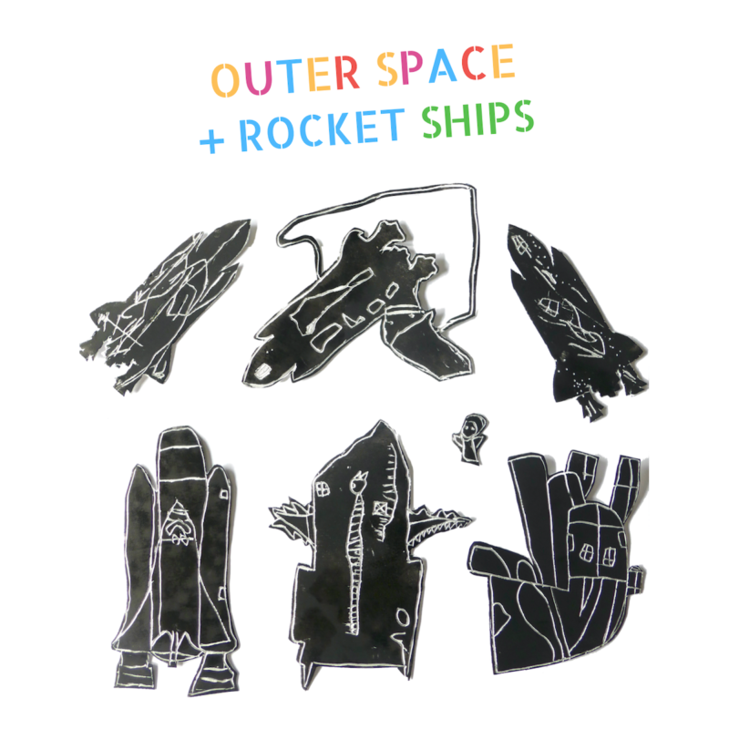 Outer Space & Rocketships