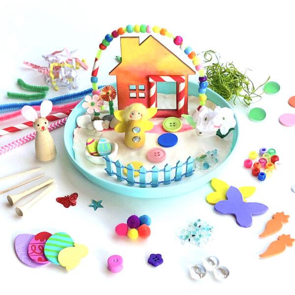 Easter Fairy Garden Art Kit